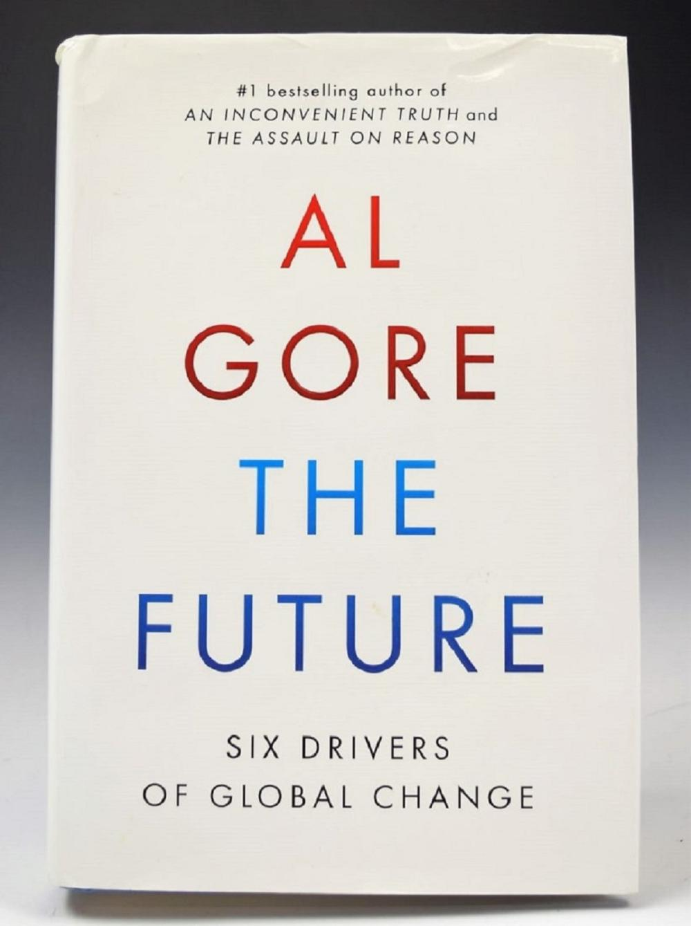 Al Gore Signed Book