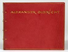 Alexander Olbricht. Dreissig Radierungen.