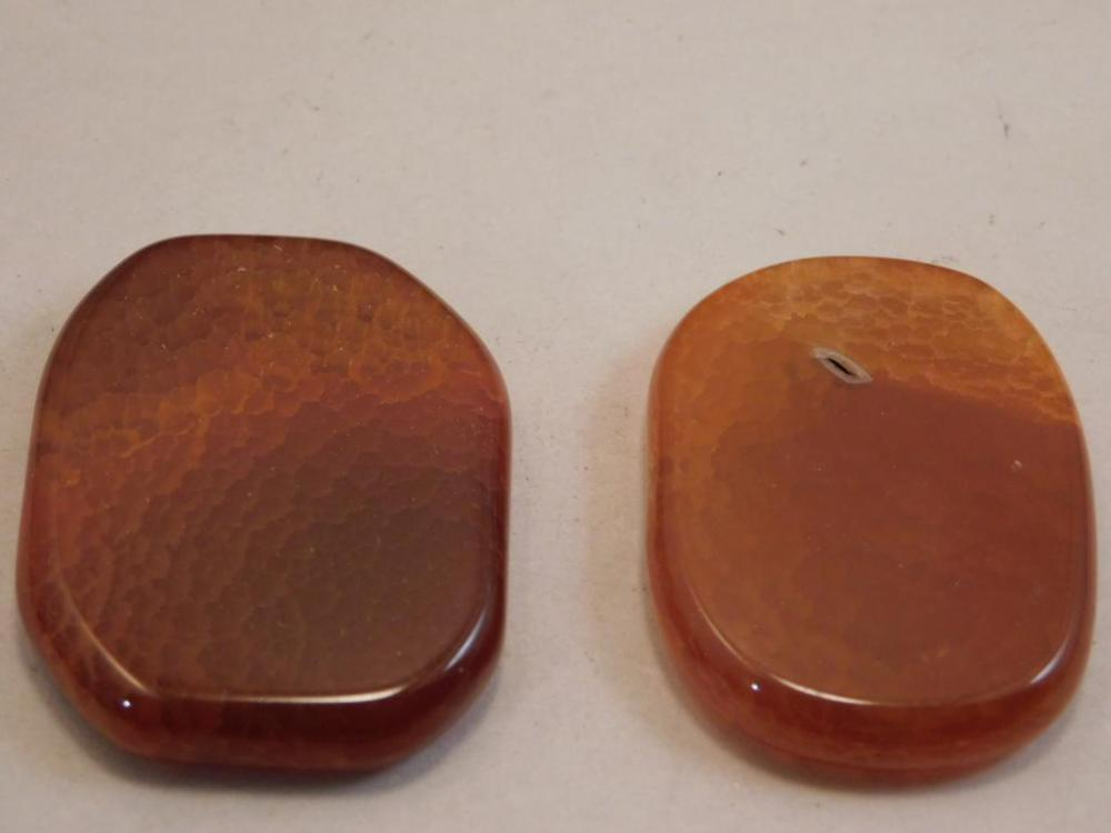 FIRE AGATE POLISHED STONE