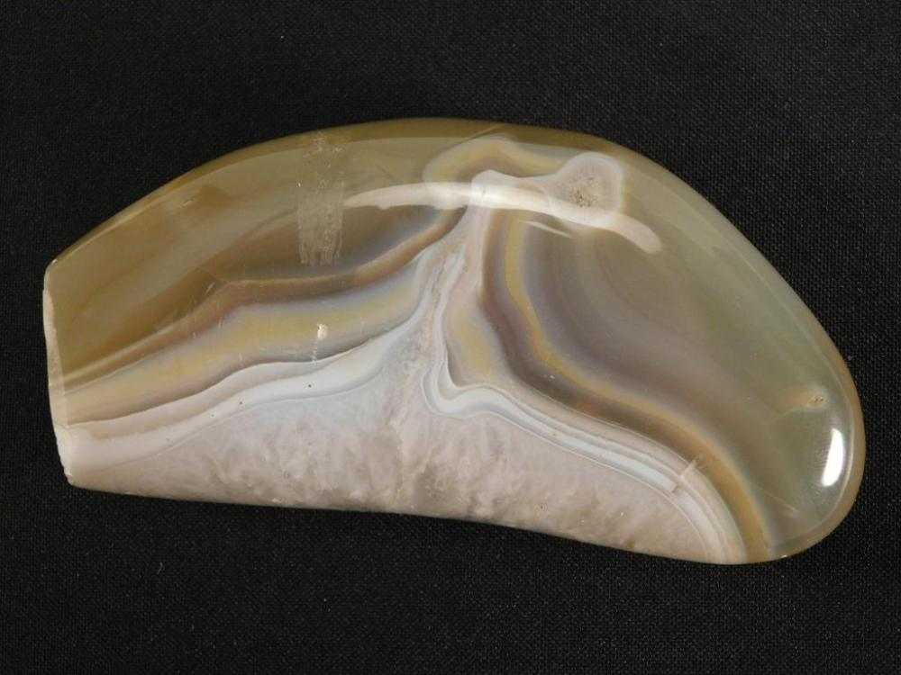 BANDED AGATE ROCK STONE LAPIDARY SPECIMEN