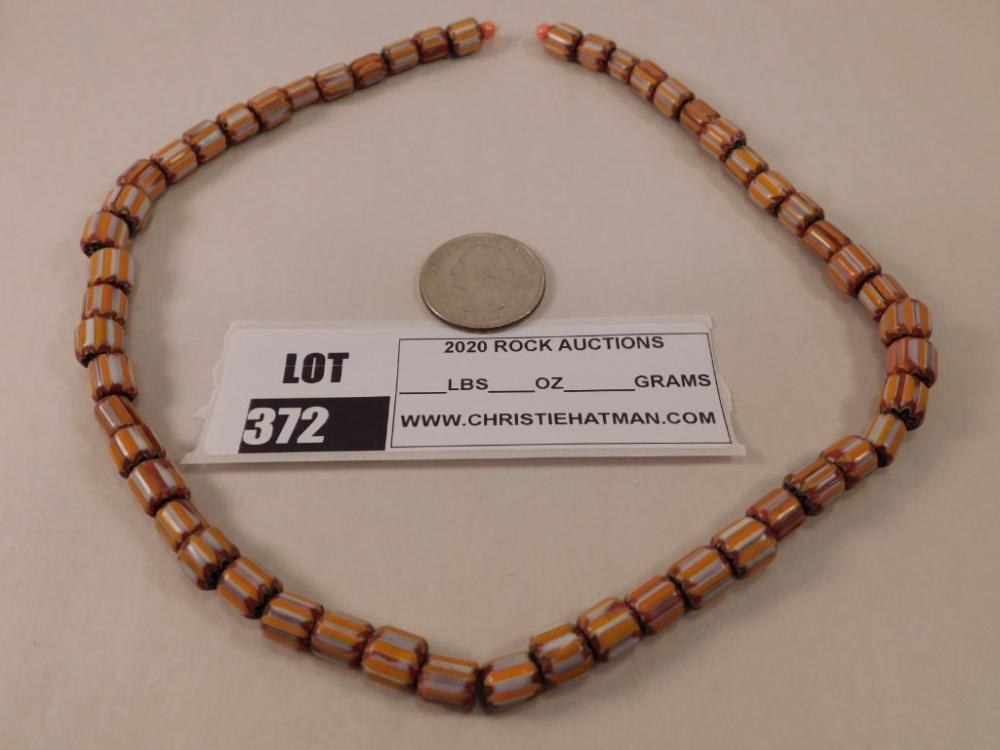 AFRICAN TRADE BEADS 6 LAYER BEADS