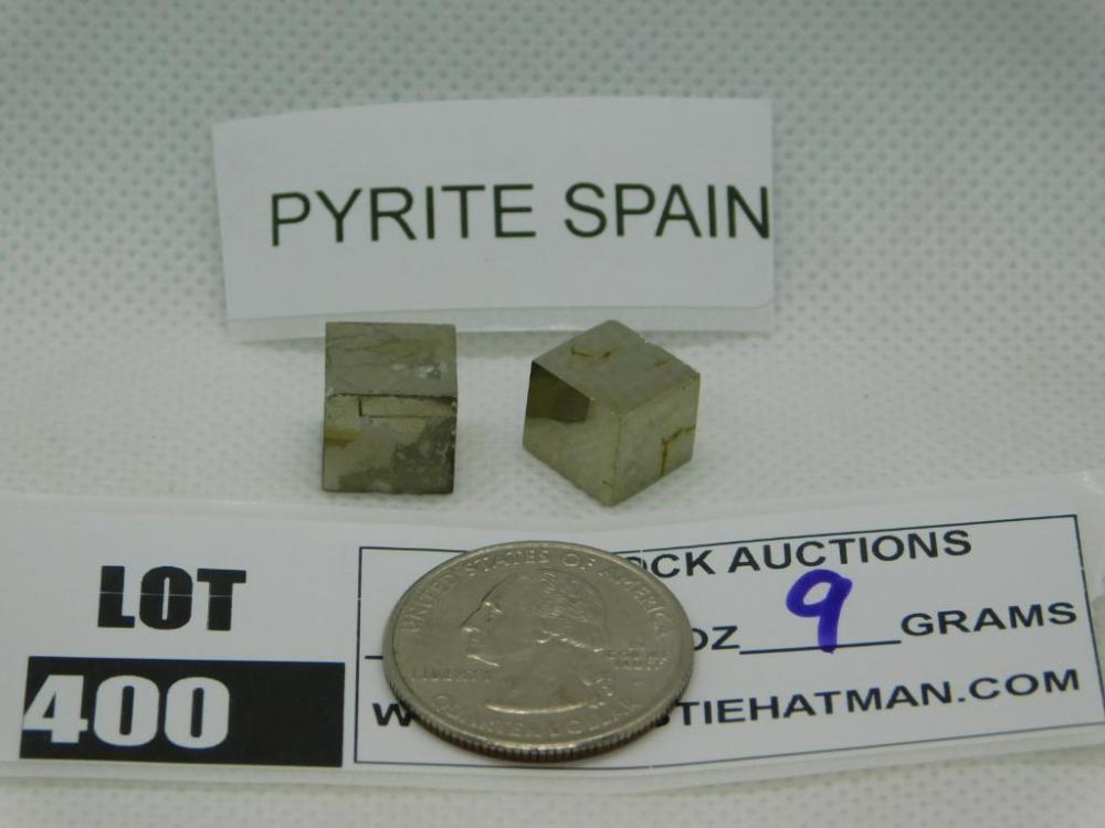 PYRITE SPAIN ROCK STONE LAPIDARY SPECIMEN