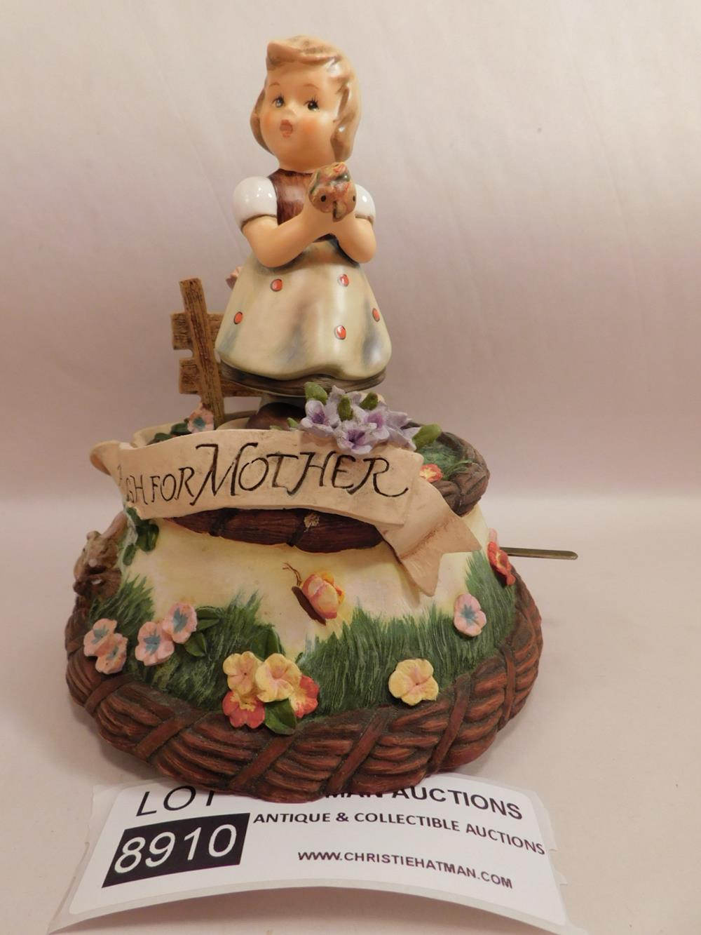 HUMMEL GOEBEL MI HUMMEL MUSIC BOX MUSIKFEST COLLECTION I JUST CALLED TO SAY I LOVE YOU