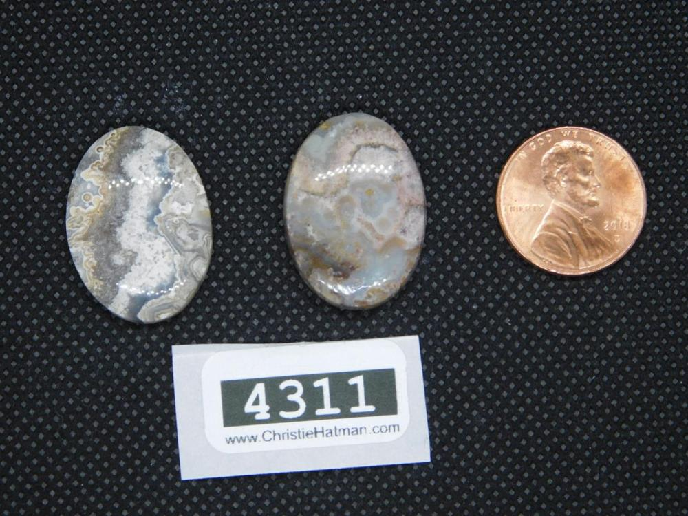 MEXICAN LACE CABOCHONS ROCK STONE LAPIDARY SPECIMEN