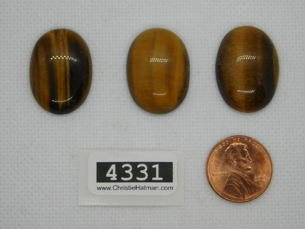 TIGER EYE CABOCHONS ROCK S TONE LAPIDARY SPECIMEN