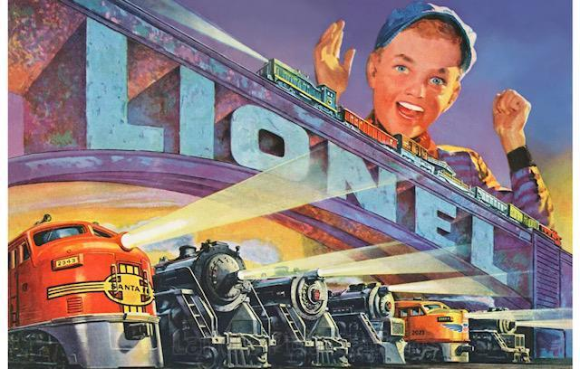 PREVIEW of Upcoming Lot: LIONEL TRAIN COLLECTION