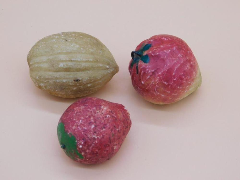 PREVIEW of Upcoming Lot: ALABASTER ITALIAN STONE FRUIT COLLECTION