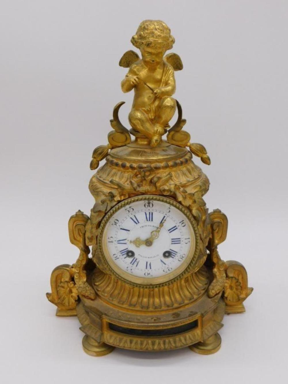 PREVIEW of Upcoming Lot: FRENCH CHARLES OUDIN CLOCK