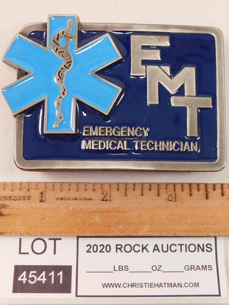 EMT BELT BUCKLE