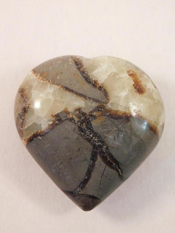SEPTARIAN HEART ROCK STONE LAPIDARY SPECIMEN