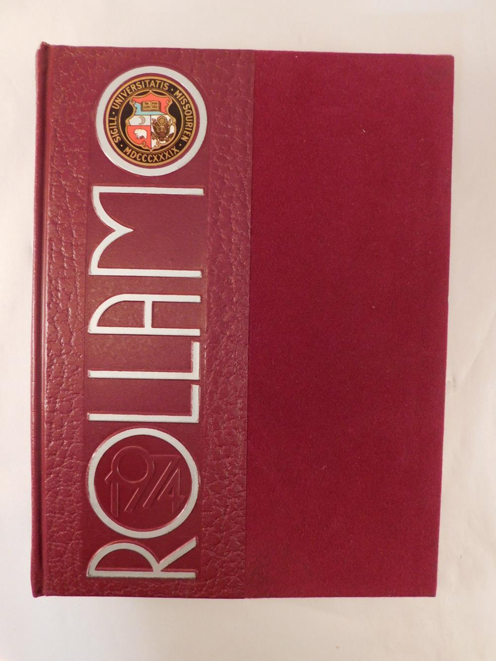 ROLLA MO 1974 UNIVERSITY OF MO ROLLA COLLEGE YEARBOOK ANNUAL BOOK