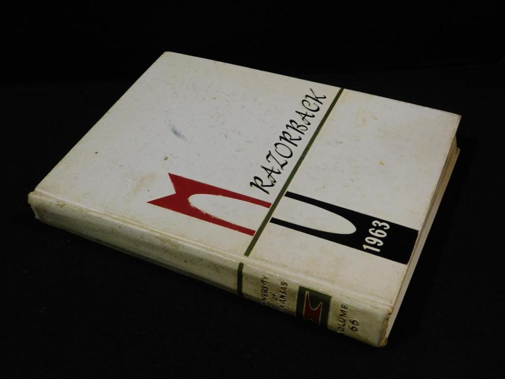 1963 RAZORBACK YEAR BOOK