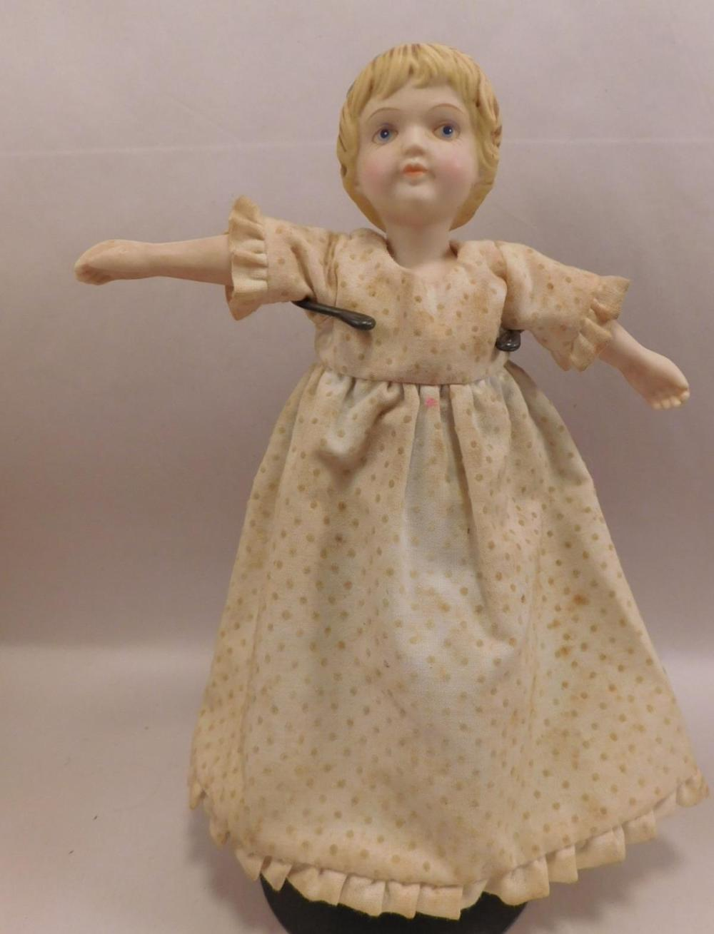 DOLL BISQUE GERMAN GERMANY VINTAGE ANTIQUE