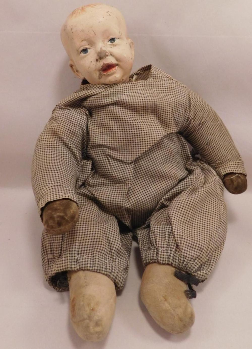 BABY BUMPS HORSMAN 1910 DOLL BISQUE GERMAN GERMANY VINTAGE ANTIQUE
