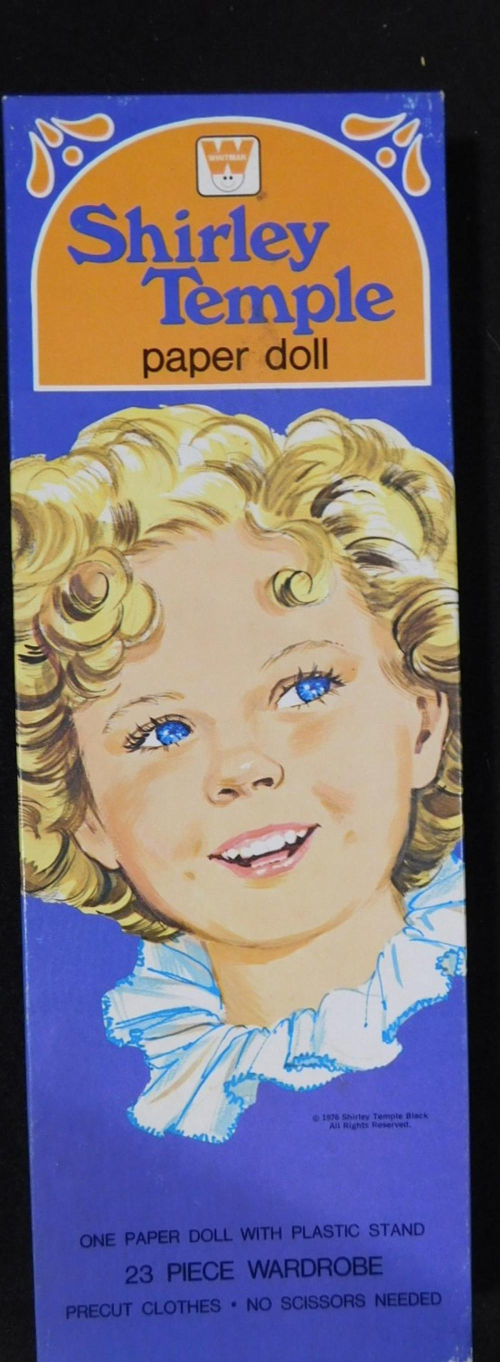 WHITMAN SHIRLEY TEMPLE PAPER DOLL IN BOX