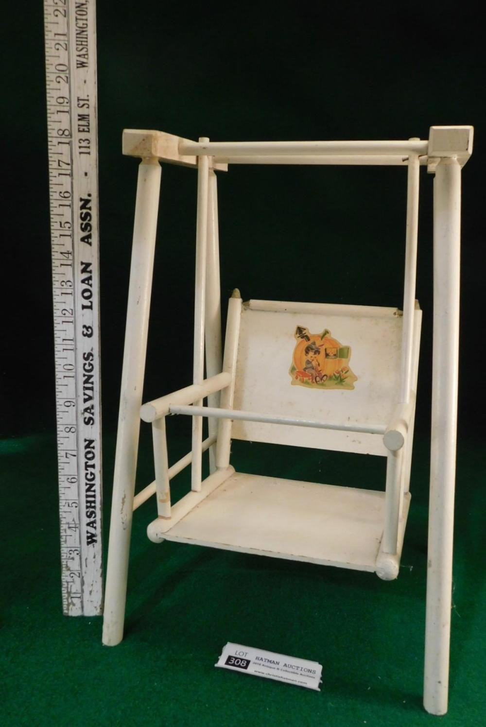 WOODEN DOLL SWING