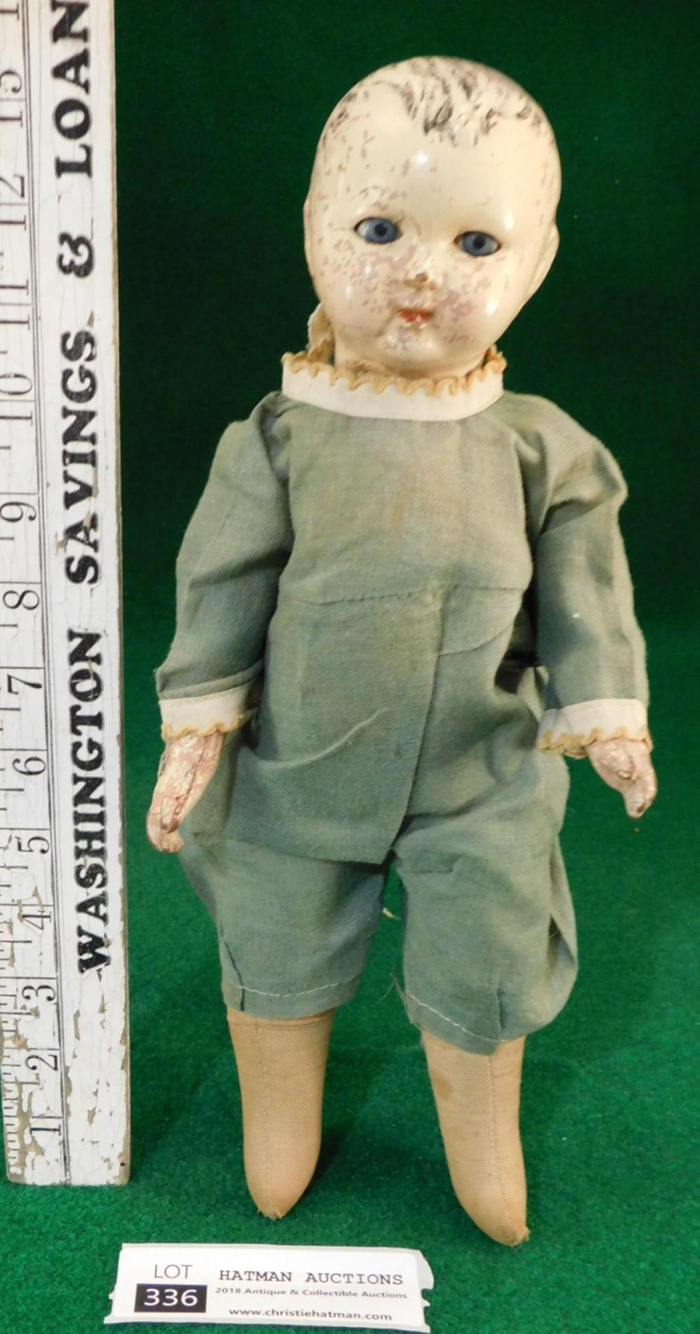 VINTAGE ANTIQUE DOLL
