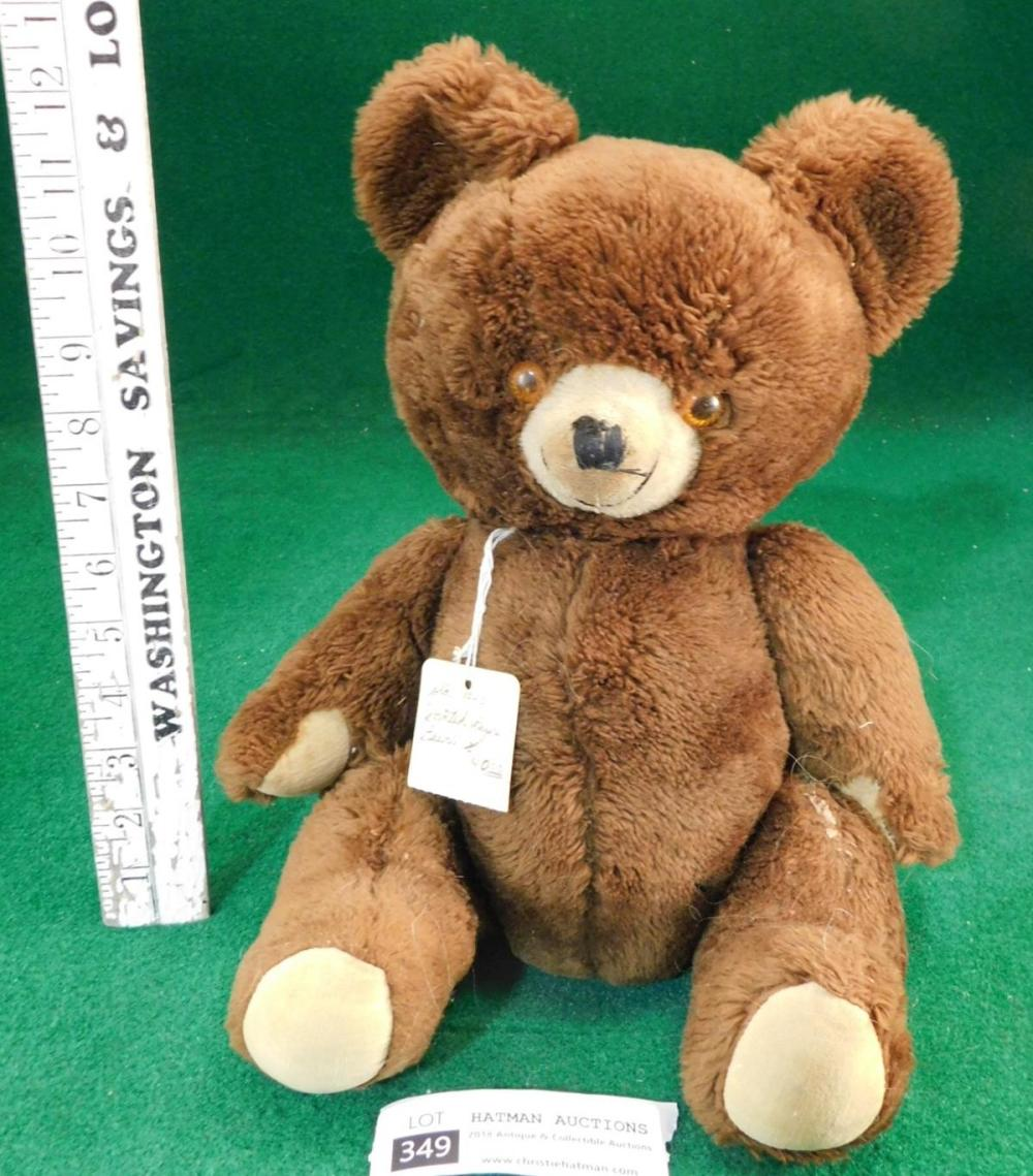 TOY BEAR VINTAGE ANTIQUE
