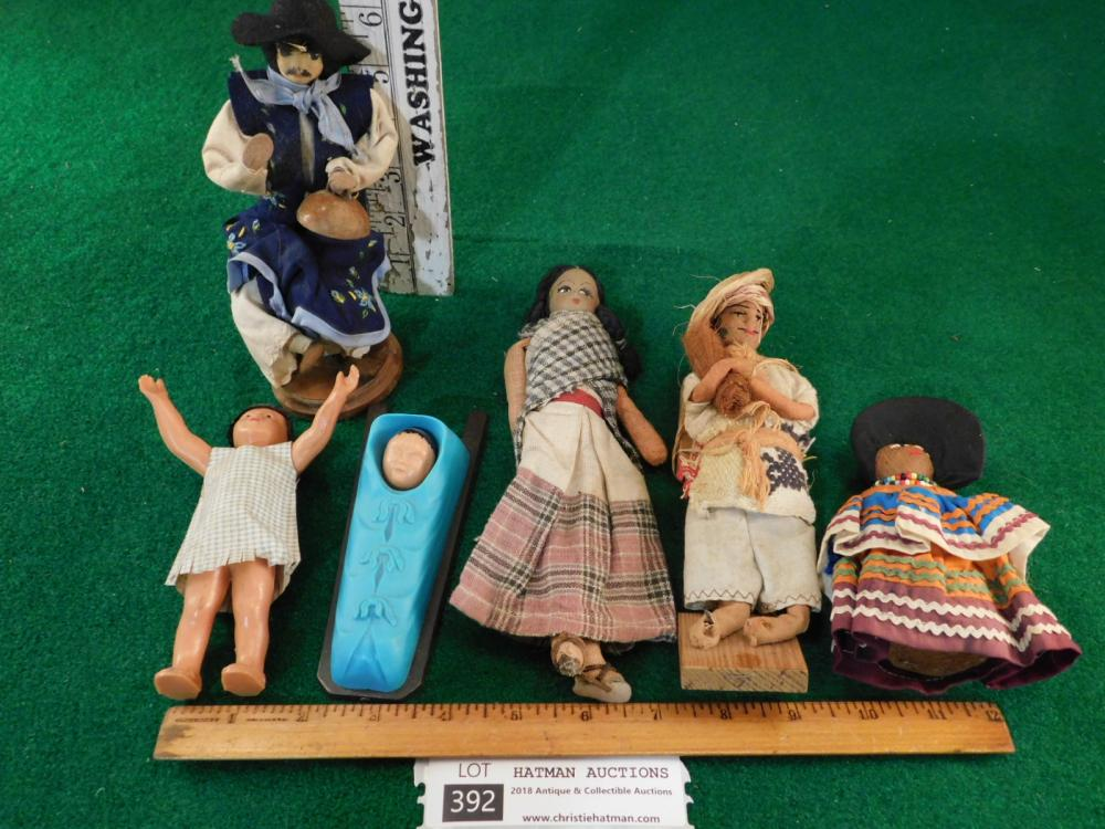 VINTAGE ANTIQUE DOLLS
