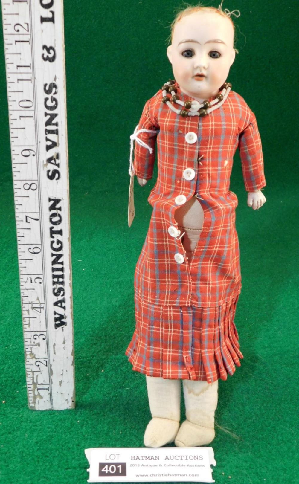CUNO & OTTO DRESSEL 1896 BISQUE DOLL VINTAGE ANTIQUE