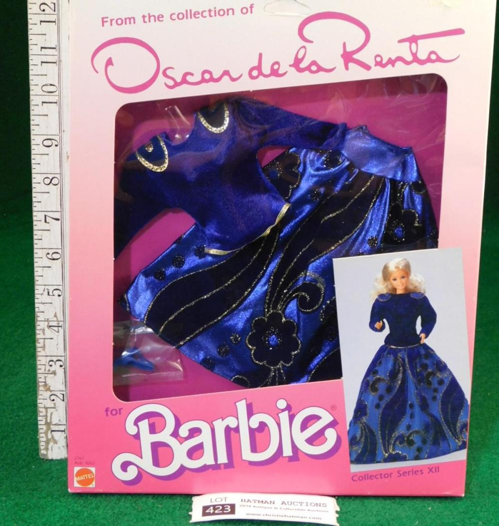 OSCAR DE LA RENTA BARBIE DRESS NIB 1985