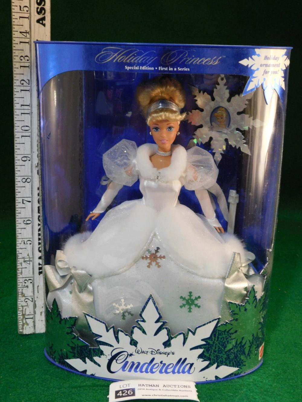 CINDERELLA BARBIE HOLIDAY PRINCESS 1996