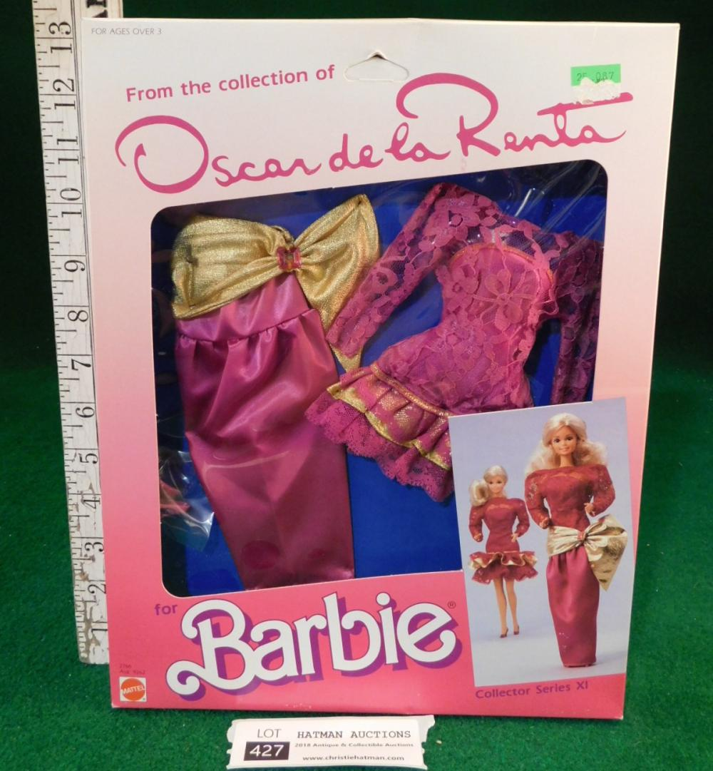 OSCAR DE LA RENTA BARBIE DRESS NIB 1984