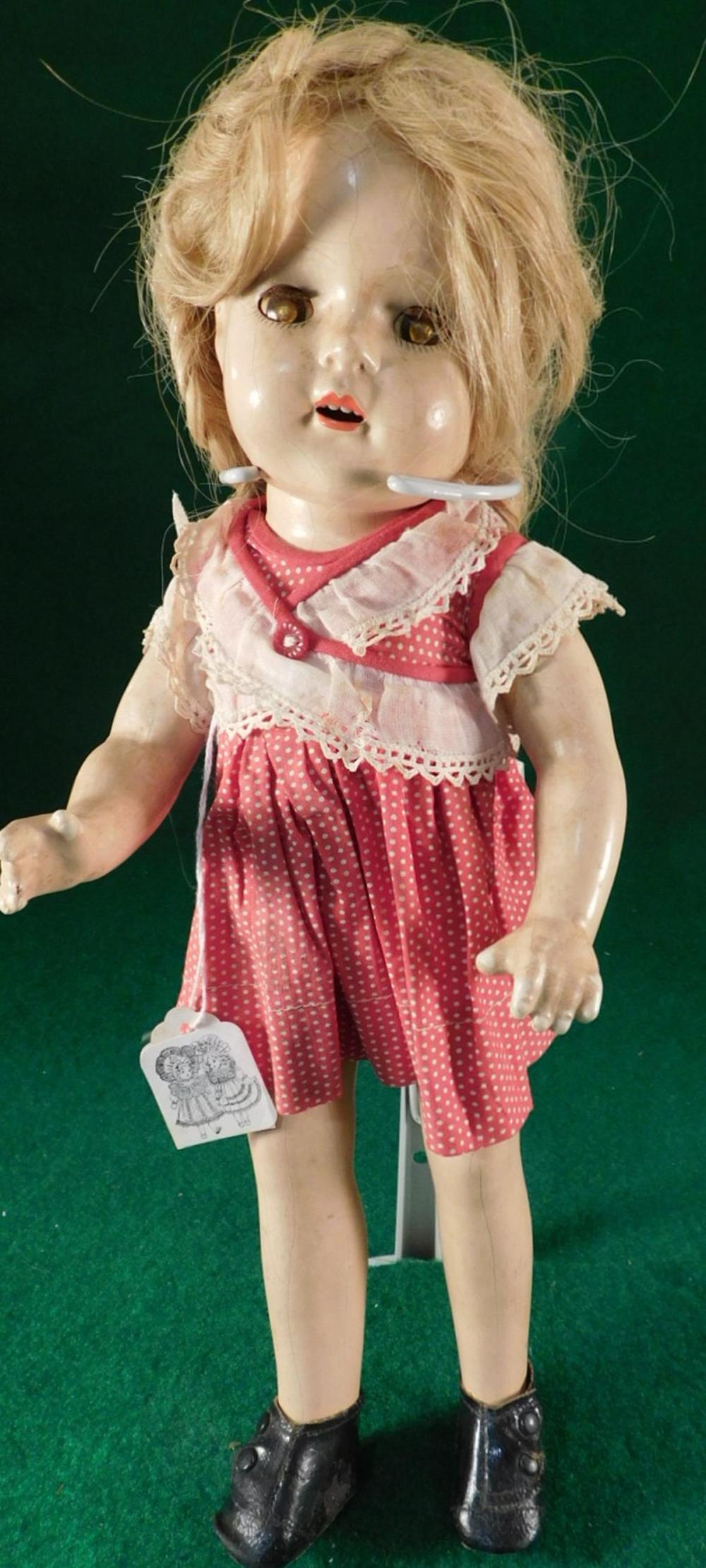MADAME ALEXANDER PRINCESS ELIZABETH MARKED ON THE HEAD ANTIQUE DOLL (YES, WE SHIP!)
