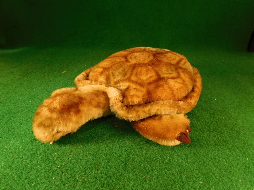 STEIFF STUFFED TURTLE TOY (YES, WE SHIP!)
