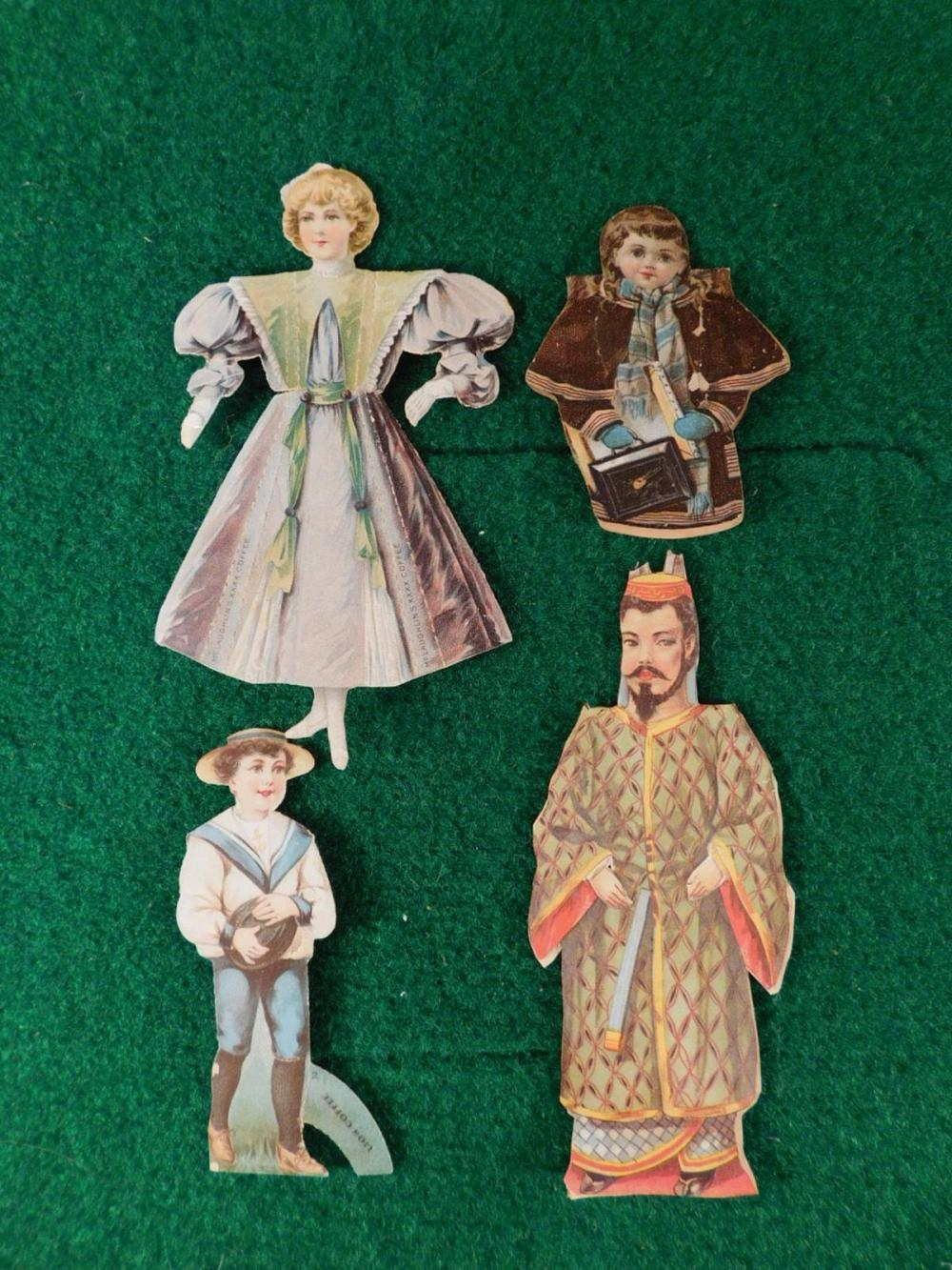 VINTAGE PAPER DOLLS ANTIQUE COLLECTIBLES (YES, WE SHIP!)