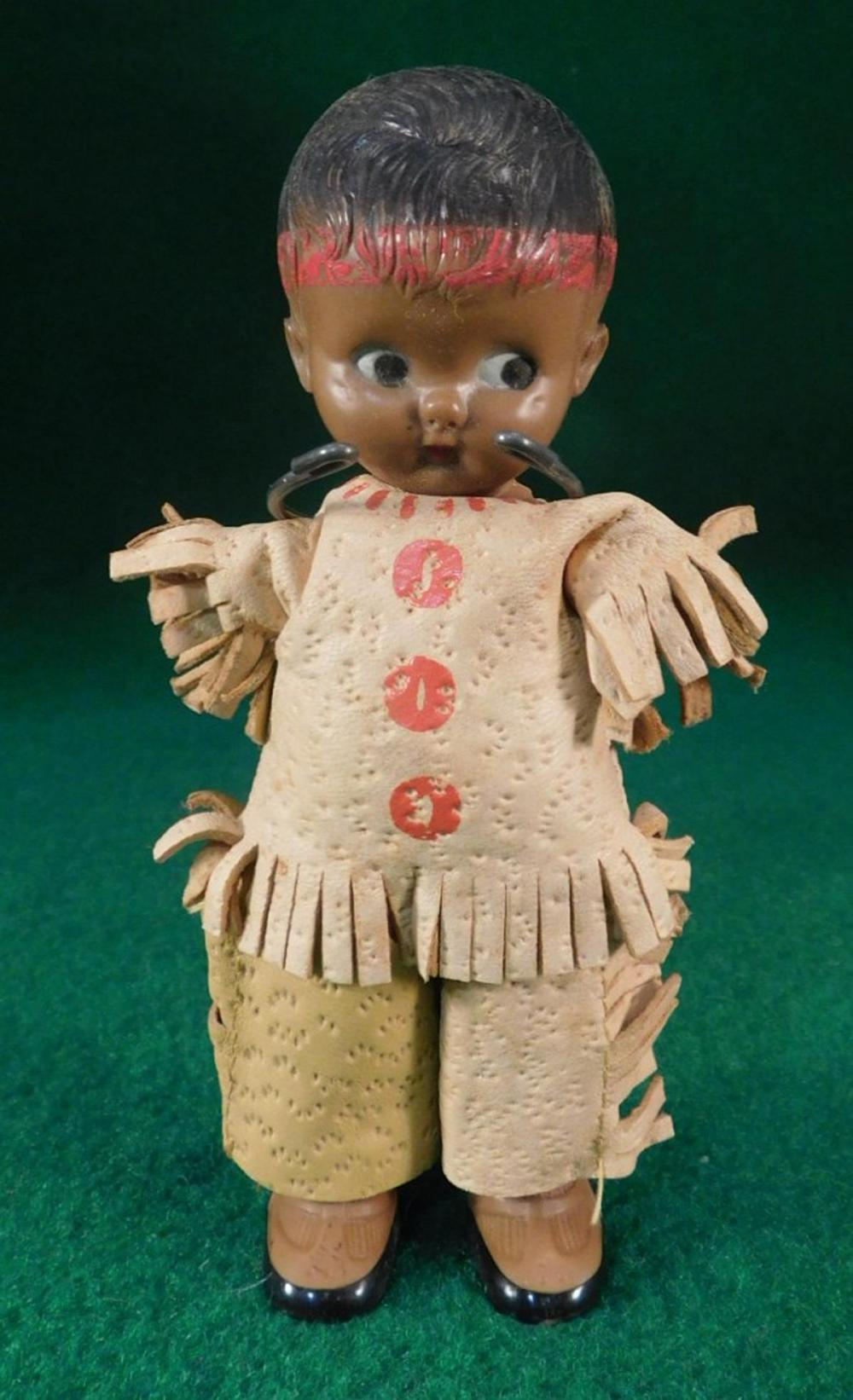 VINTAGE INDIAN DOLL (YES, WE SHIP!)