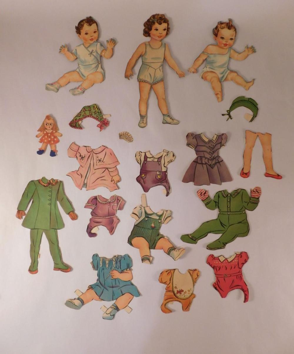 PAPER DOLLS (YES, WE SHIP!)