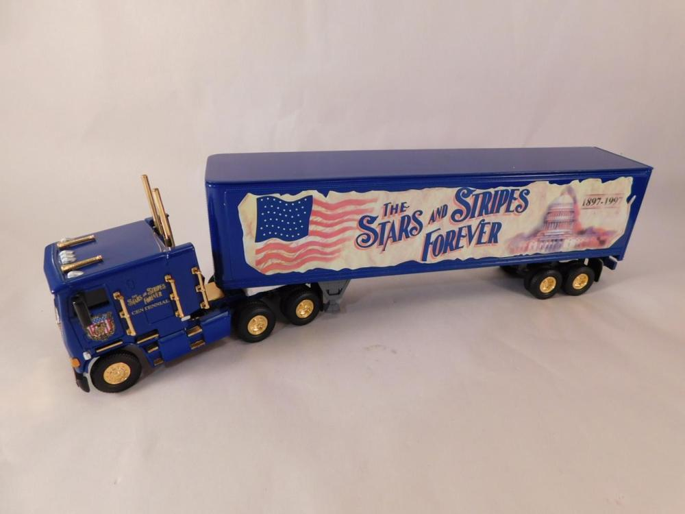 STAR AND STRIPES 100TH ANNIVERSARY TRIBUTE DIE CAST COLLECTIBLE MATCHBOX TRUCK