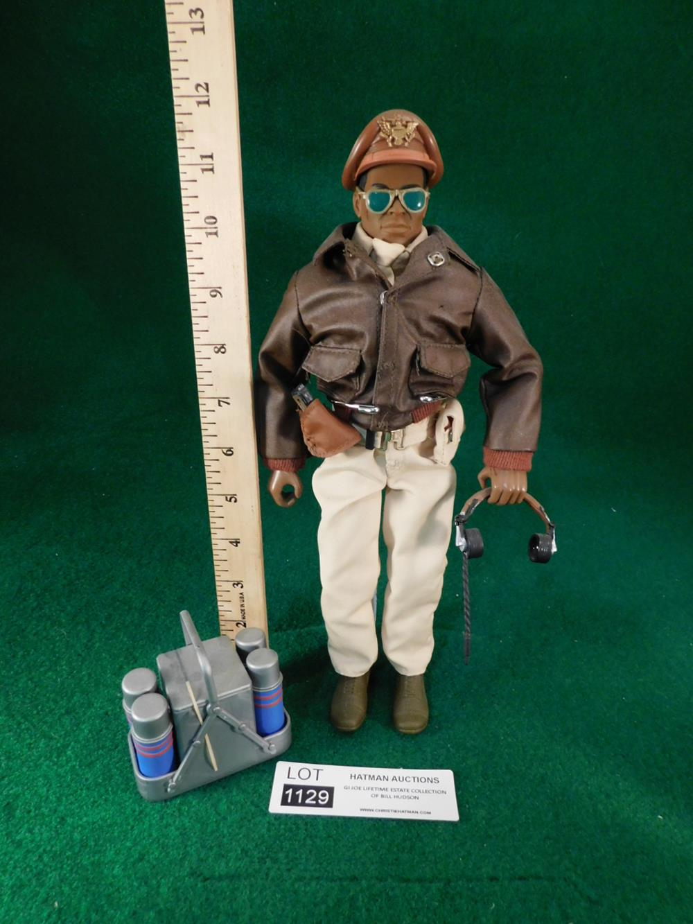 TUSKEGEE BOMBER PILOT ACTION FIGURE