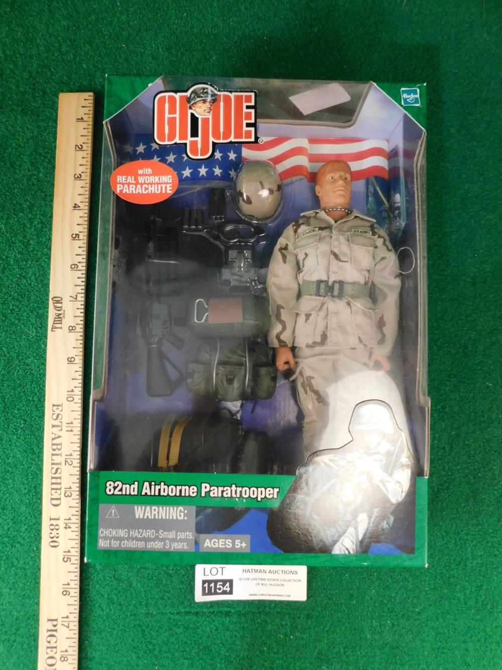 82ND AIRBORNE PARATROOPER ACTION FIGURE