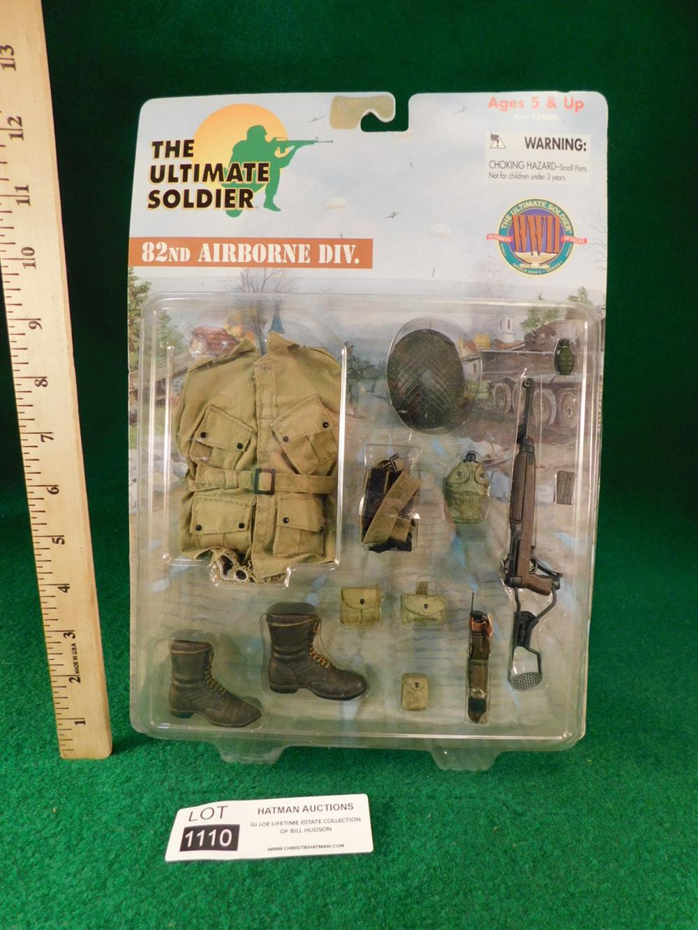 82ND AIRBORNE DIVISION GI JOE ACTION FIGURE