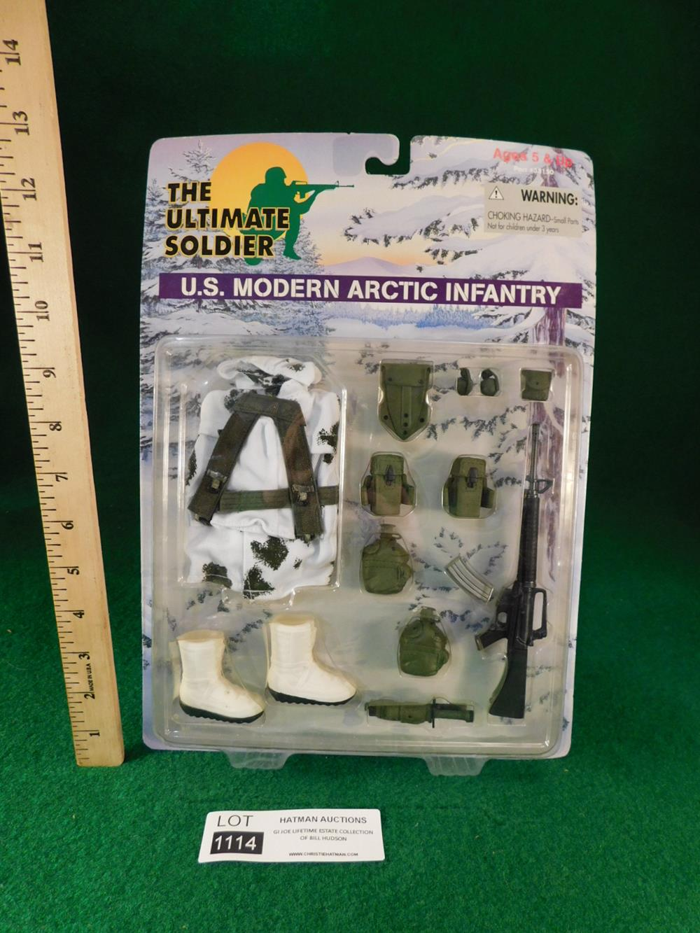ULTIMATE SOLDIER ARCTIC INFATRY GI JOE ACTION FIGURE