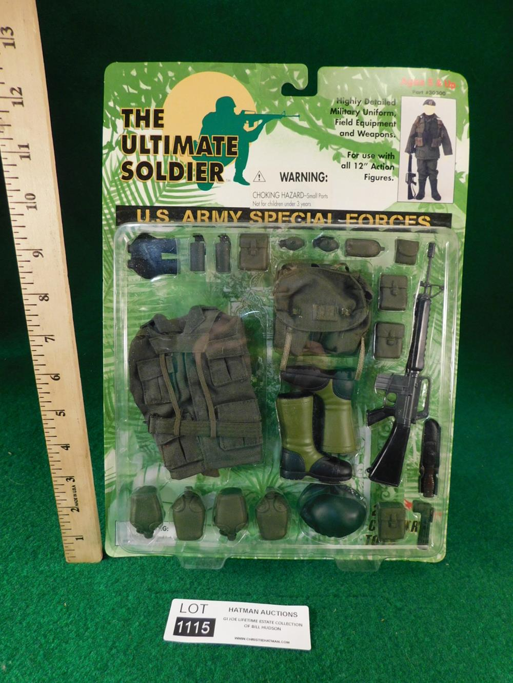 US ARMY SPECIAL FORCES GI JOE ACTION FIGURE