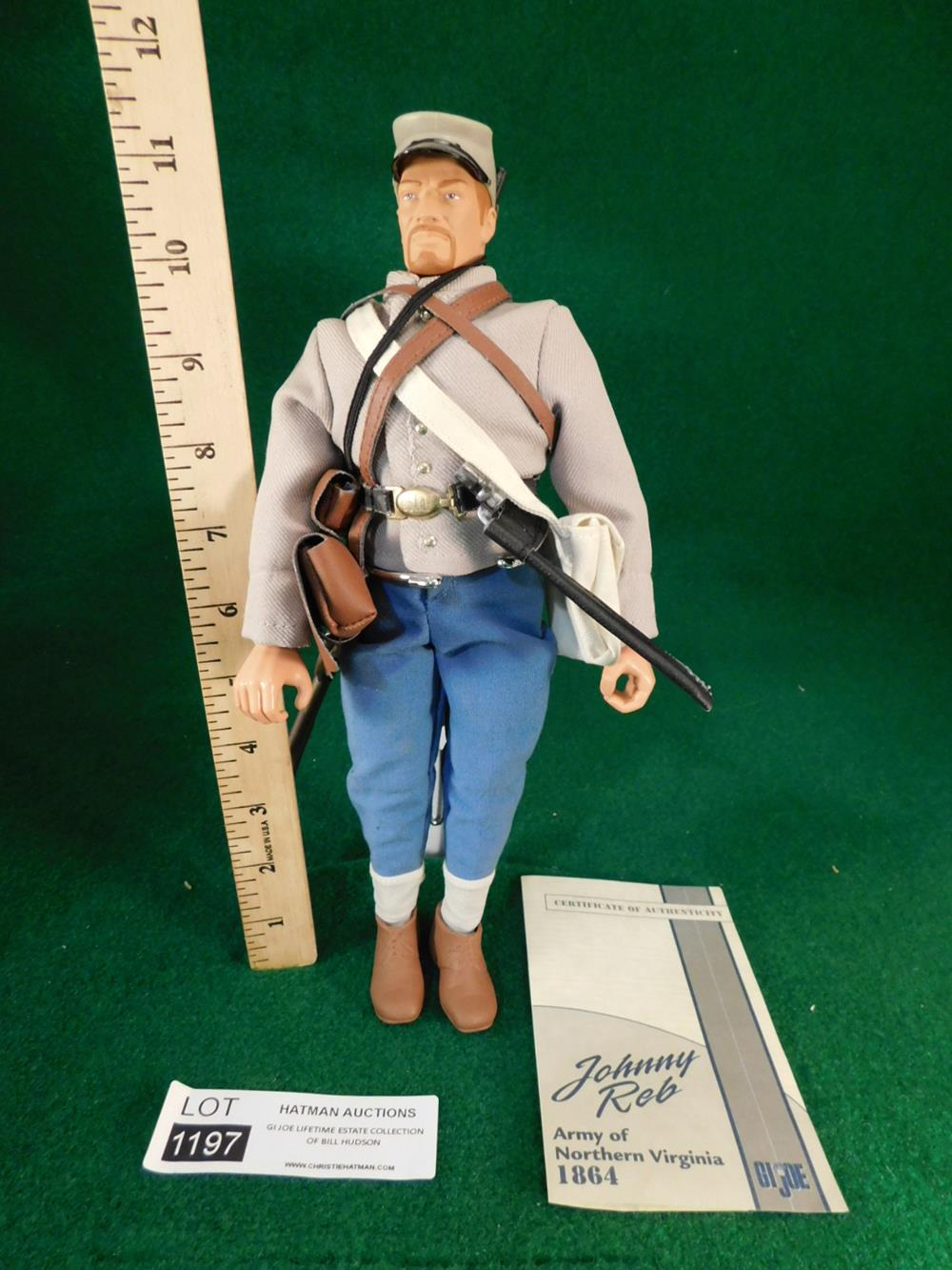 JOHNNY REB CONFEDERATE GI JOE ACTION FIGURE