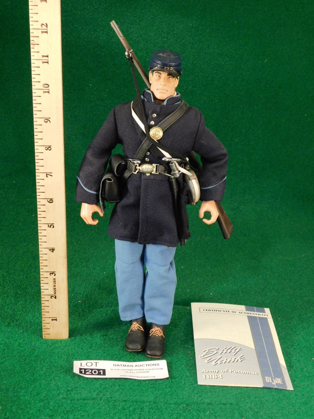 BILLY YANK UNION SOLDIER ACTION FIGURE