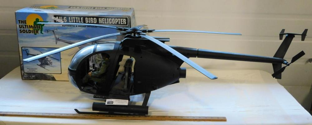 AH-6 LITTLE BIRD HELICOPTER ULTIMATE SOLDIER