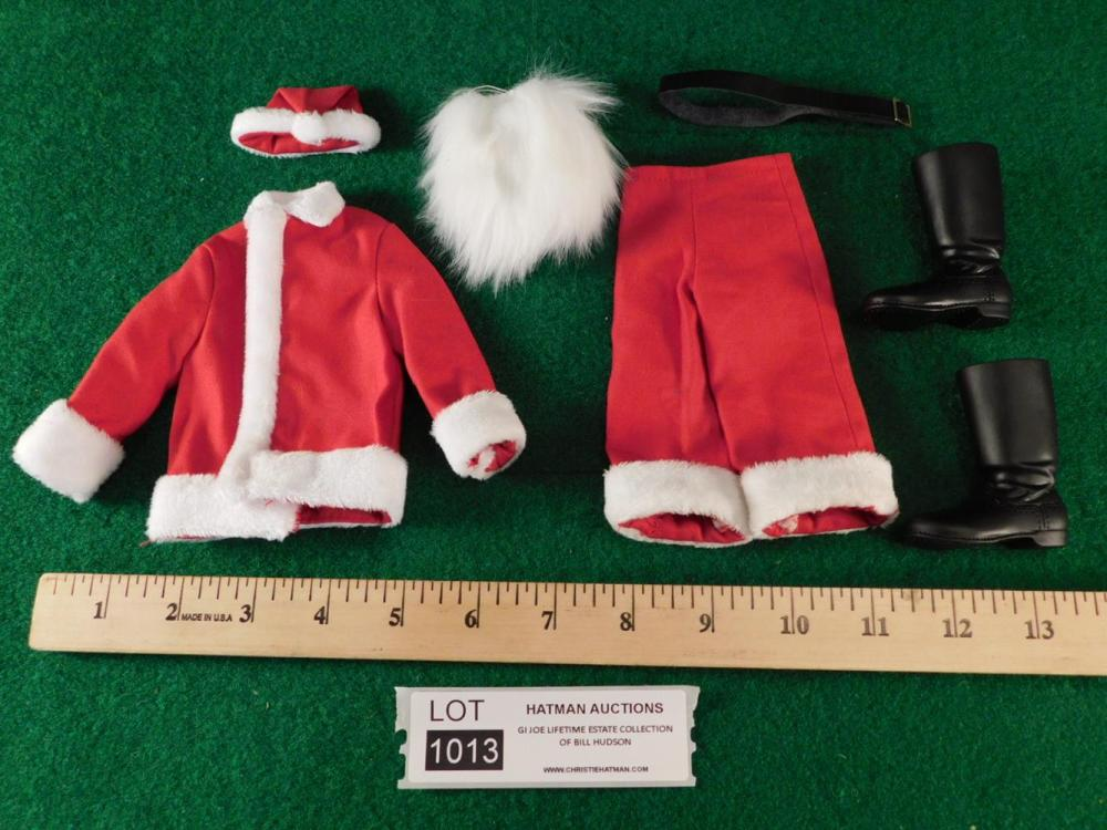 SANTA SUIT AND BOOTS G. I. JOE ACTION FIGURE TOY