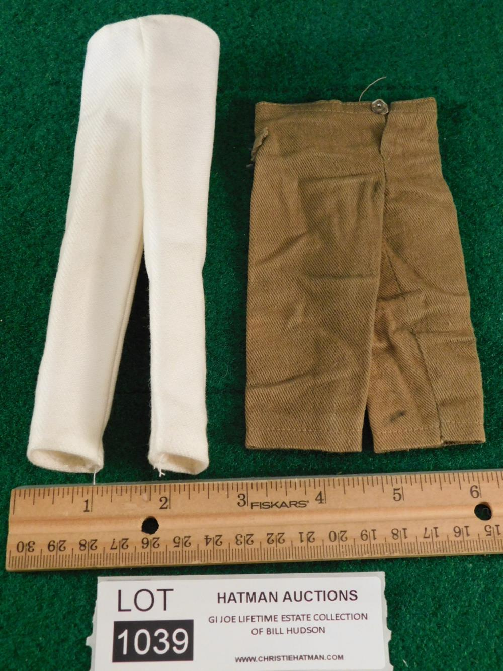 TWO PAIR OF PANTS G. I. JOE ACTION FIGURE TOY