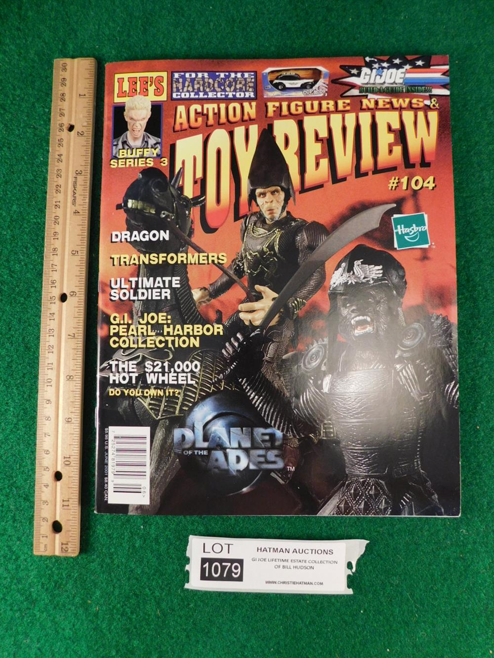 G.I. JOE ACTION FIGURE TOY REVIEW MAGAZINE