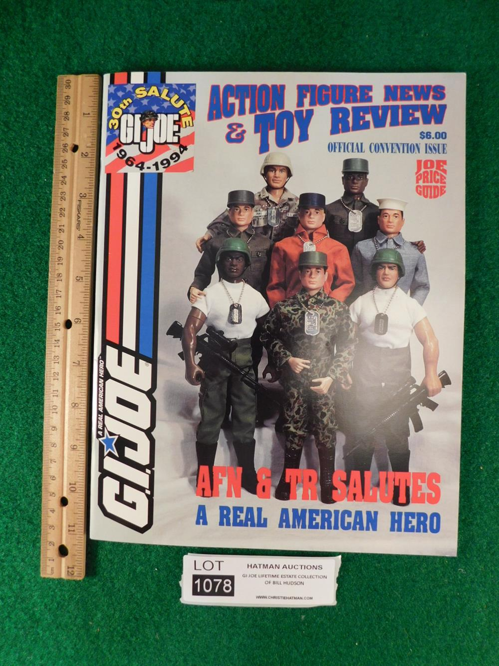 G.I. JOE ACTION FIGUIRE NEWS AND TOY REVIEW MAGAZINE