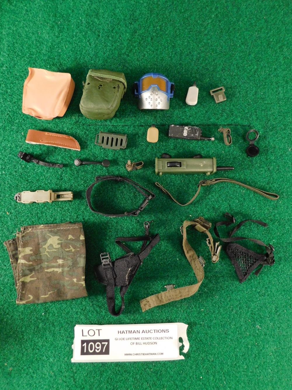 G. I. JOE ACTION FIGURE TOY ACCESSORIES