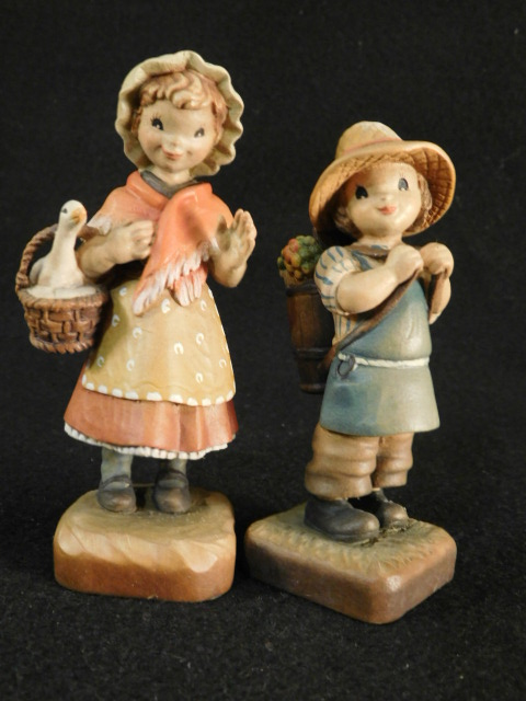 ANRI CLUB ITALY JERRANDIZ WOODEN FIGURINES (Yes, We Ship)