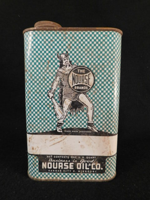 VINTAGE ANTIQUE ADVERTISING PETROLIANA NOURSE OIL CO CAN (Yes, We Ship)