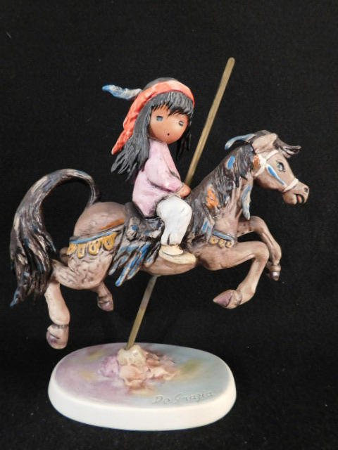 HUMMEL GOEBEL BERTA M.I. 10TH ANNIVERSARY OF TED DEGRAZIA THE CHILDREN OF DEGRAZIA (Yes, We Ship)