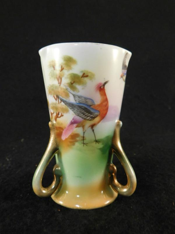 ROYAL BAYREUTH HAND PAINTED TOOTHPICK HOLDER (Yes, We Ship)